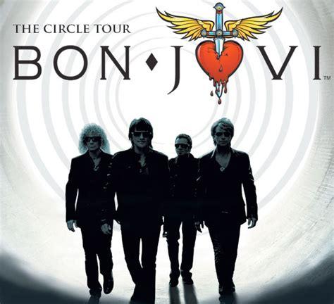 Kaos Bonjovi Bonjovi Circle Tour bon jovi april 22nd charlottehappening