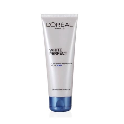 L Oreal White Foam loreal white purifying brightening foam