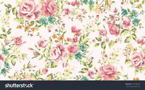 vintage flower pattern background vector art classic wallpaper seamless vintage flower pattern stock