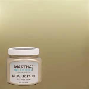 martha stewart living 10 oz golden pearl metallic paint