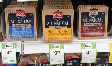 Smoked Ham Shelf by New On The Shelf At Coles 22nd December 2017 New Products Australia