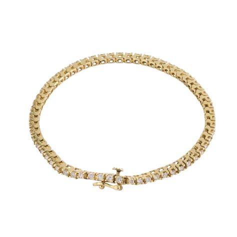 14 karat gold and tennis bracelet for sale at 1stdibs