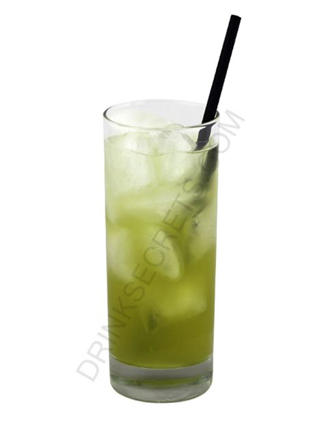 green cocktail png green lantern drink recipe all the drinks have pictures