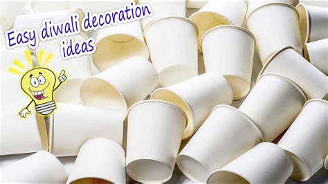easy diwali decor idea using tea cups 2017 artkala