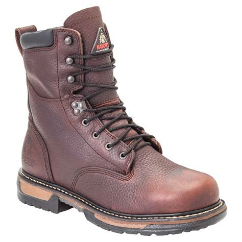 insulated work boots for rocky fq0005694 mens ironclad lace up insulated waterproof
