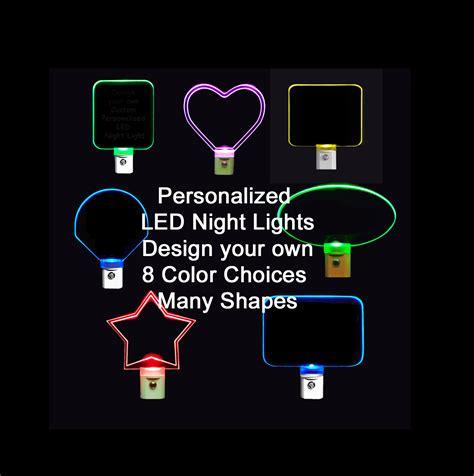 Make Your Own Custom Led - personalized custom light