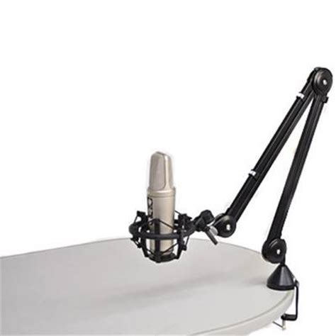 Rode Psa1 Studio Mount Angled Desk Stand Rode From Desk Mount Mic Stand