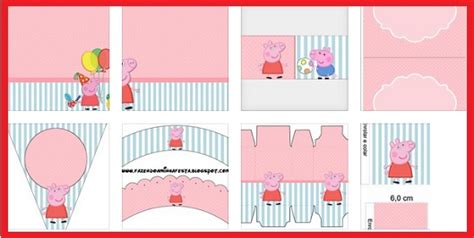 kit imprimible de peppa pig kit de peppa pig para imprimir gratis todo peques