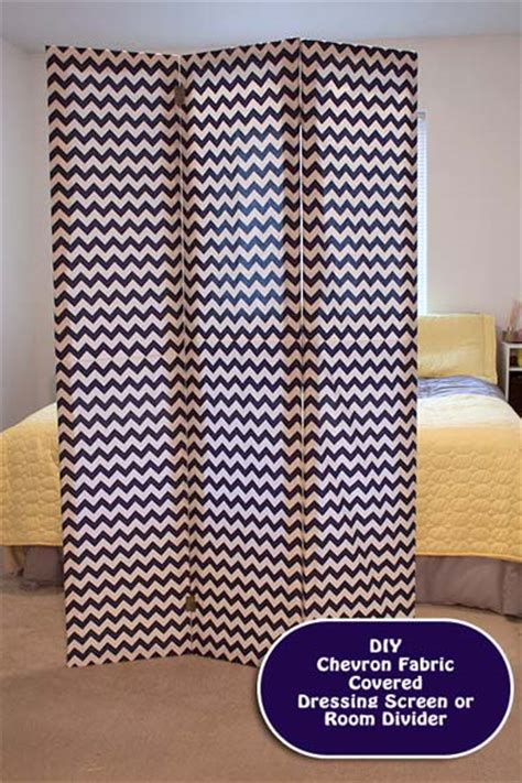 diy how to make a chevron room divider or dressing screen
