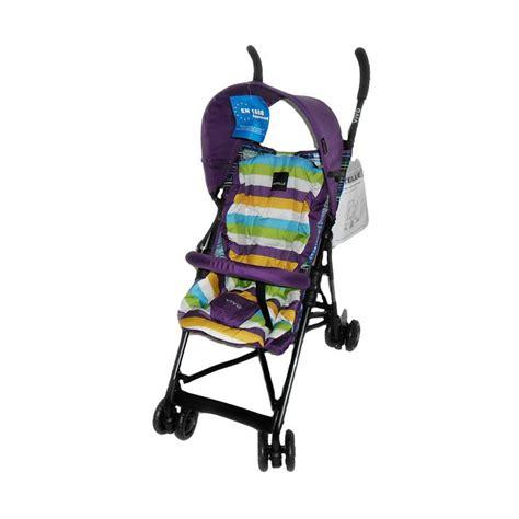 Jual Kursi Dorong Lipat Aluminium jual babyelle vivo kereta dorong bayi purple