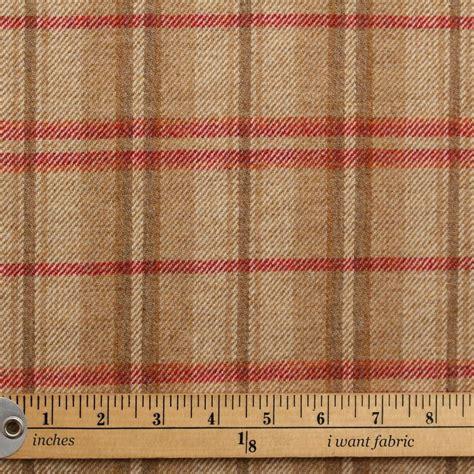 Discount Upholstery Fabric Uk by Discount 100 Wool Brown Orange Upholstery Tweed