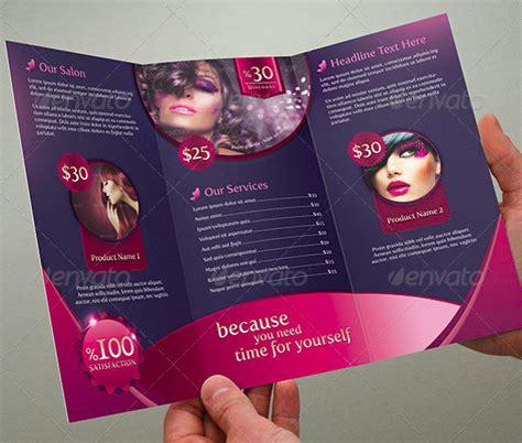 hair salon brochure templates parlour brochure templates 36 free jpg psd