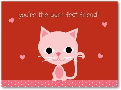 cat valentines card cat s meow s day cards for in firecracker