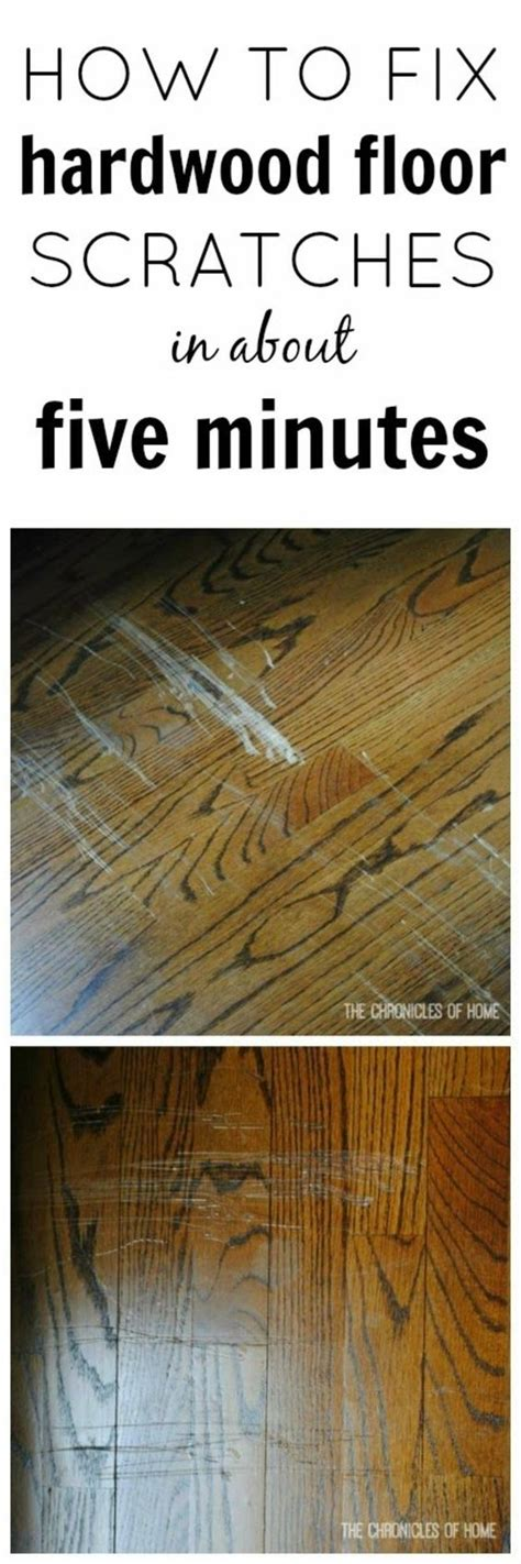 Repair Hardwood Floor Scratches Fix Scratched Hardwood Floors In About Five Minutes Hardwood Floors Home And Floors