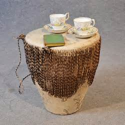 afrikanische tische drum side table occasional small low antiques atlas