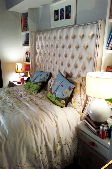 the mindy project bedroom mindy s bed which has seen considerable action seth