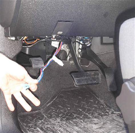where do you connect a brake controller to a 2008