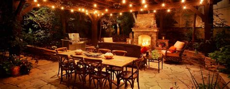 outdoor lighting patio patio lighting ideas the garden