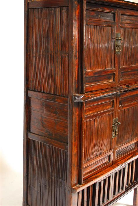 bamboo kitchen cabinets chinese bamboo kitchen cabinet for sale at 1stdibs