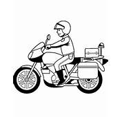 Motorbikes Colouring Page 25 To Print And Color For Free