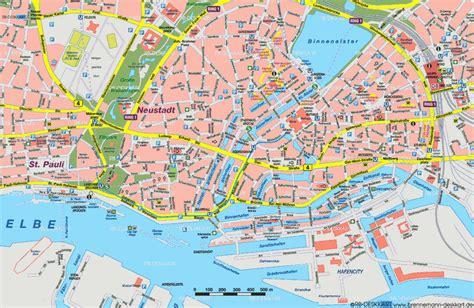 Hamburg Karte by Karten Hamburg