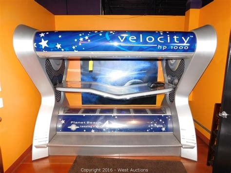 velocity tanning bed west auctions auction tanning salon liquidation item