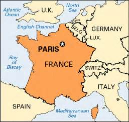 Paris On World Map by Paris Location Kids Encyclopedia Children S Homework