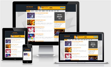 html5 responsive templates for blogger nivo magazine responsive blogger templates flytemplate