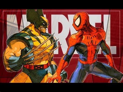 imagenes de wolverine animado dibujando a spiderman vs wolverine marvel youtube