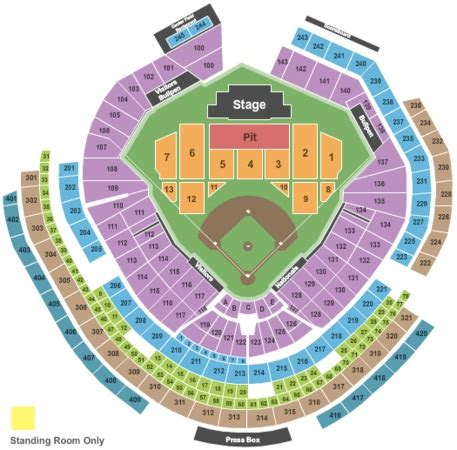 washington dc map nationals stadium nationals park tickets in washington district of columbia