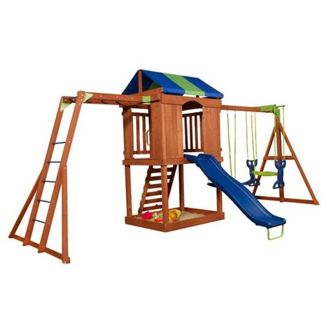 academy swing sets superior canyon creek wooden playset academy