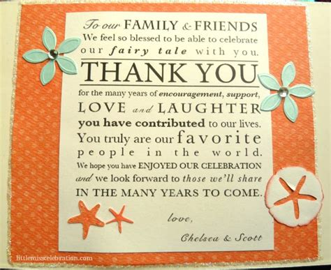 Thank You Letter Destination Wedding Destination Wedding One Of A Favor Miss Celebration