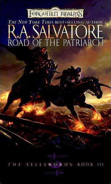 libro road of the patriarch forgotten realms road of the patriarch sellswords 3 by r a salvatore paperback barnes