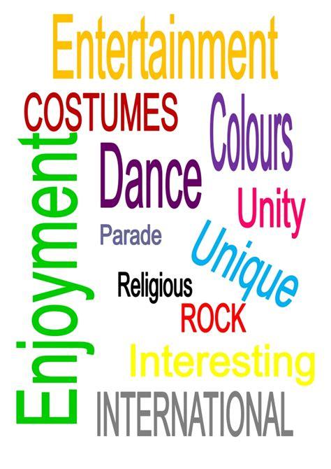 words describing new year words to describe festivals