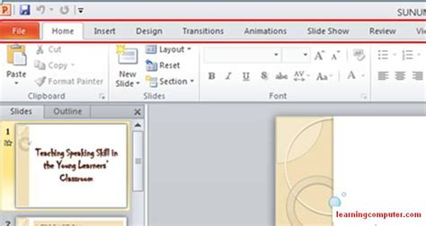 powerpoint design tab what is powerpoint learn ms powerpoint 2010 tutorial