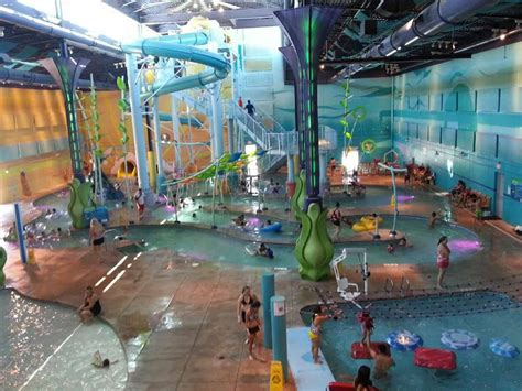 30,000 sq ft of indoor water park   Yelp