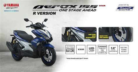 Yamaha Aerox 155 Vva Standart Black Bogor 1 ini dia 3 tipe yamaha aerox 155 dari versi standar sai