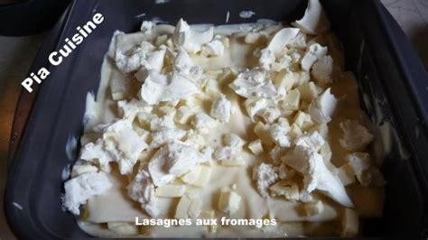 Couper Une Pièce En Deux 3890 by Lasagnes Aux Fromages Le De Pia Cuisine