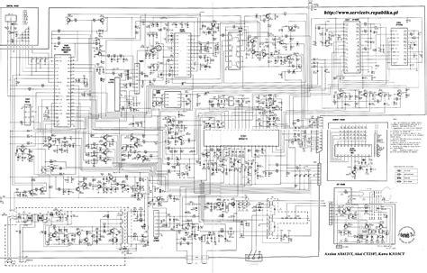 Sharp Television Free Schematic free tv schematic diagram wiring diagram with description