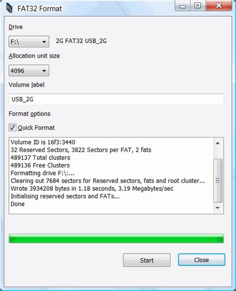 fat32 format a usb drive fat32 format the portable freeware collection