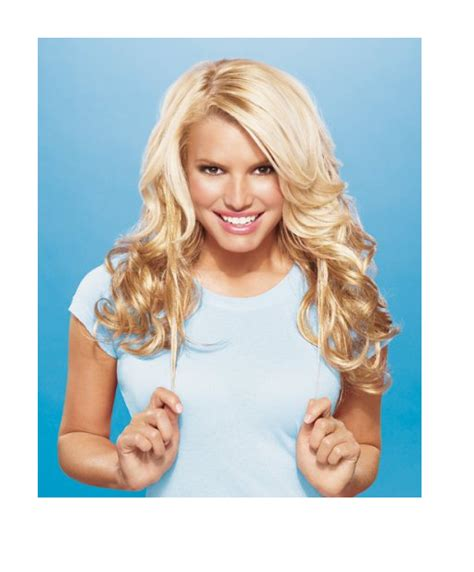 pictures of using jessica simpsons hair extensions on short hair jessica simpson hair extensions jewels tv