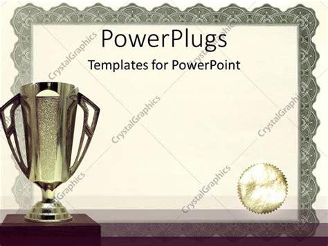 powerpoint award template powerpoint template medals certificates awarding