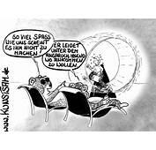 Cartoon Plackerei  Arbeit Ohne Ende