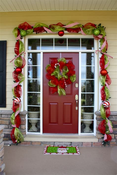 command strips christmas decorating frontdoor garland 27 best images about doors on garlands decorating