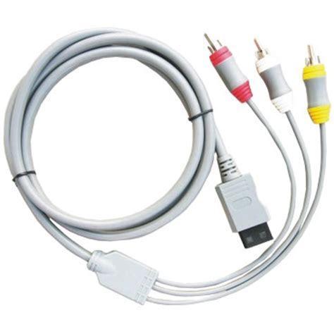 Wii Av Cable By Onejersey av cable for nintendo wii nintendo unlock software