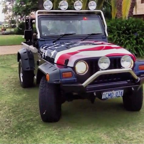 American Flag Jeep American Flag Painted Jeep Jeep Flags