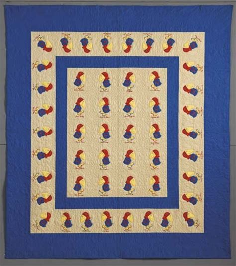 Softball Quilt by Barbara Brackman S Material Culture Vintage Sports Quilts