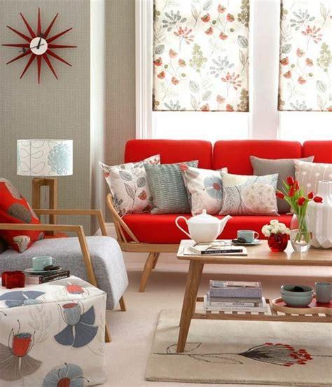 moderne len wohnzimmer wohnzimmer ideen rote