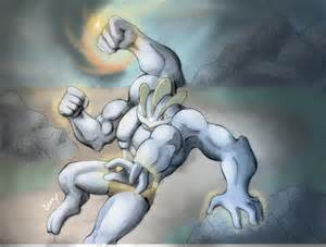 Machamp is tightening its focus contest entry by eemsart on