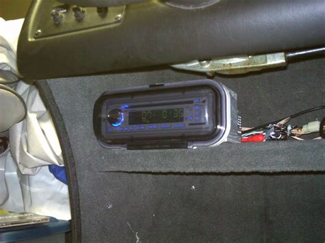 fishing boat stereo muskiefirst boat stereo install 187 muskie boats and